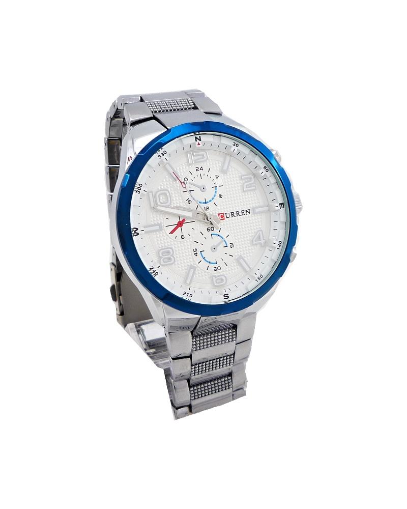 Pánské hodinky Curren Capricie stříbné 331P 3e0170f842d