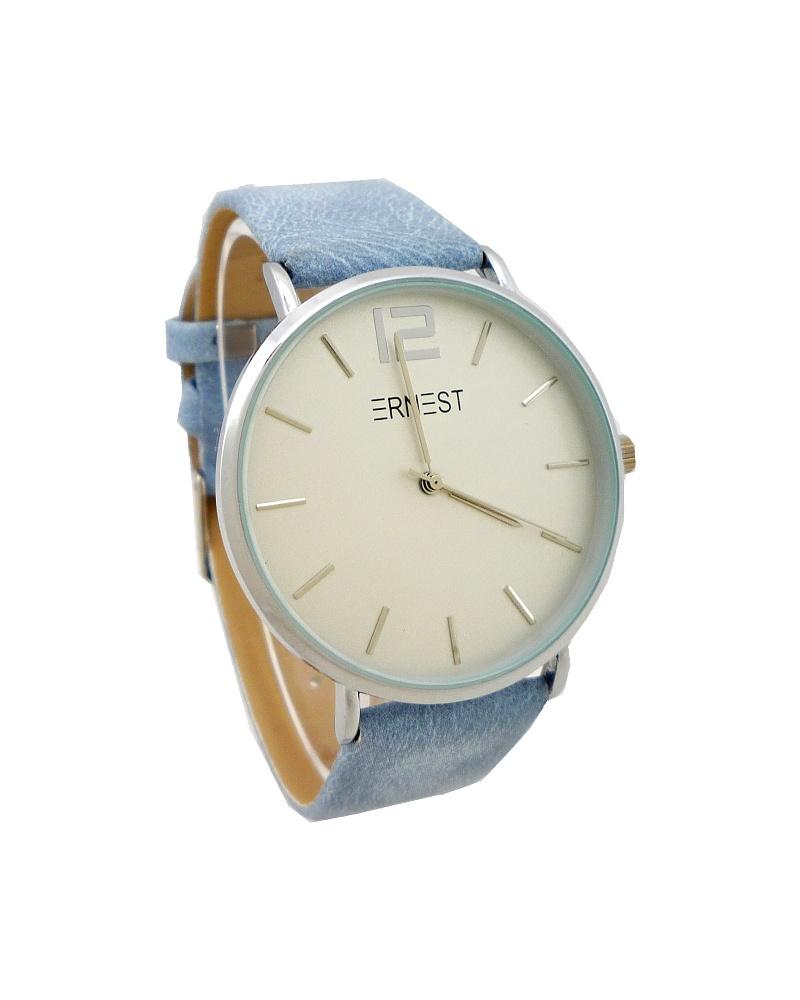 Dámské hodinky Ernest Moily světle modré 746D