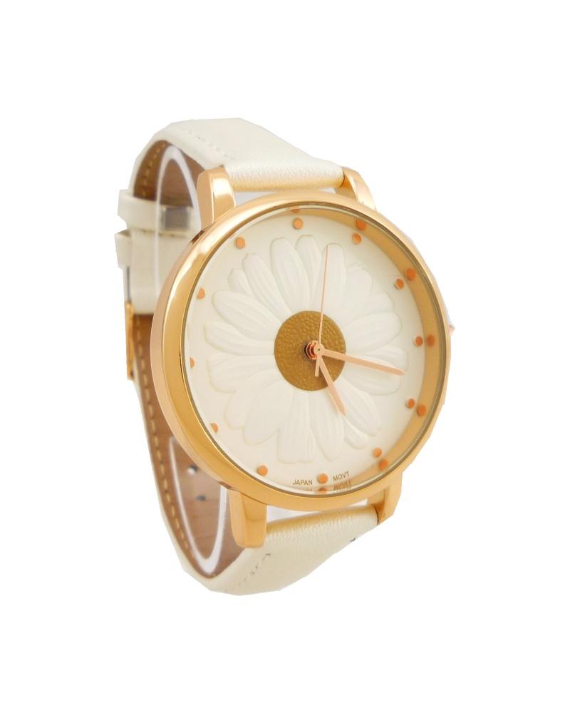 Dámské hodinky G.D Flower bronzovo-bílé 754D 09c41a7c5e4