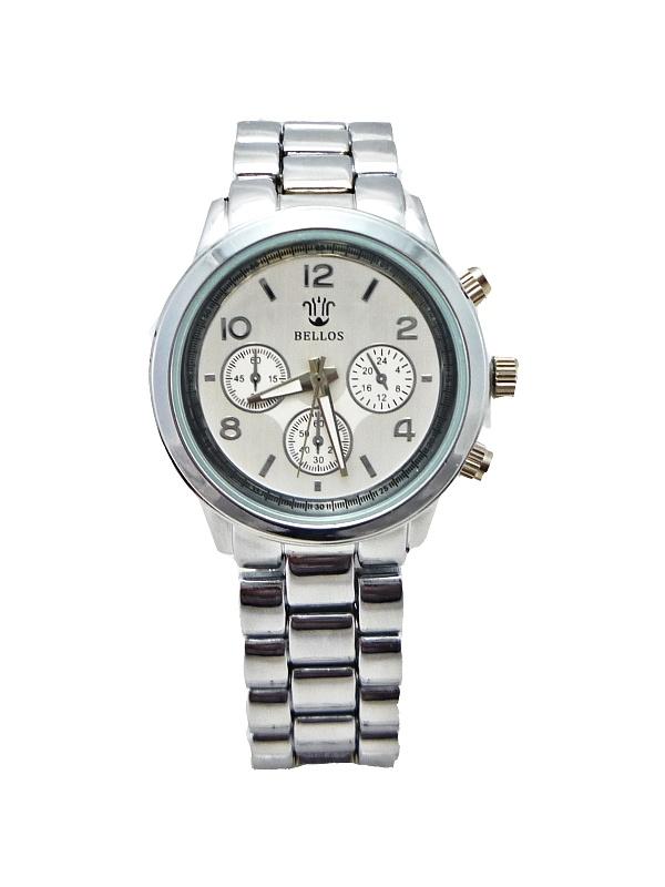 Dámské stříbrné hodinky Bellos 166D