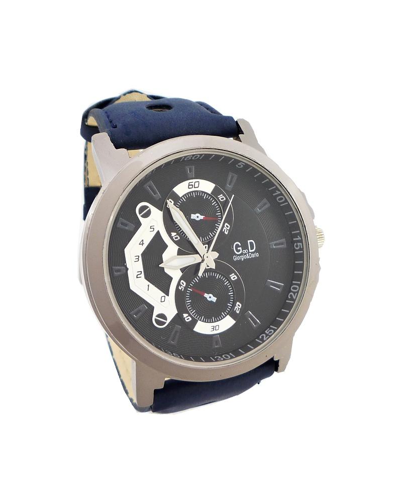 f4126362a15 Pánské hodinky G.D Extra modré 321P