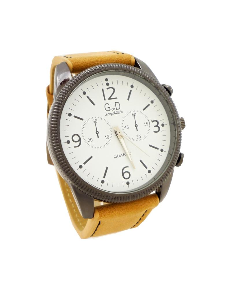 Pánské hodinky G.D Simply světle hnědé 335ZP e3952ec1f5