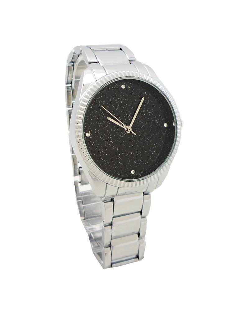 Dámské hodinky G.D Interesty černo-stříbrné 541ZD