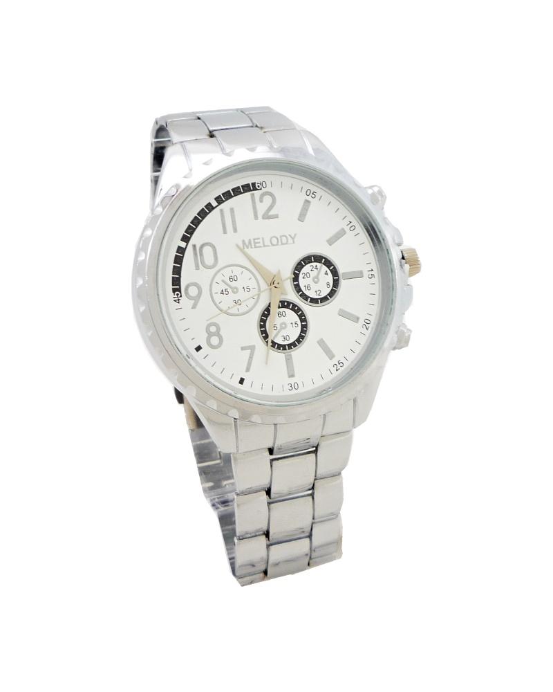 Pánské hodinky Melody Gant stříbrné 329P 805eb8aeda