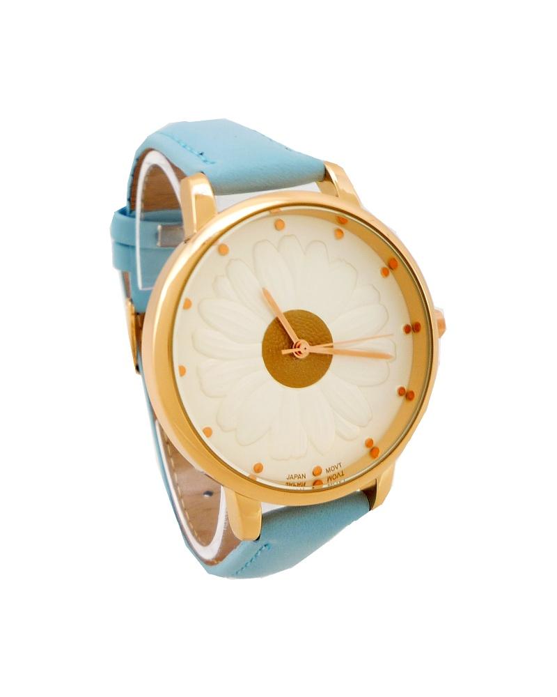 81b96551e66 Dámské hodinky G.D Flower modré 755D