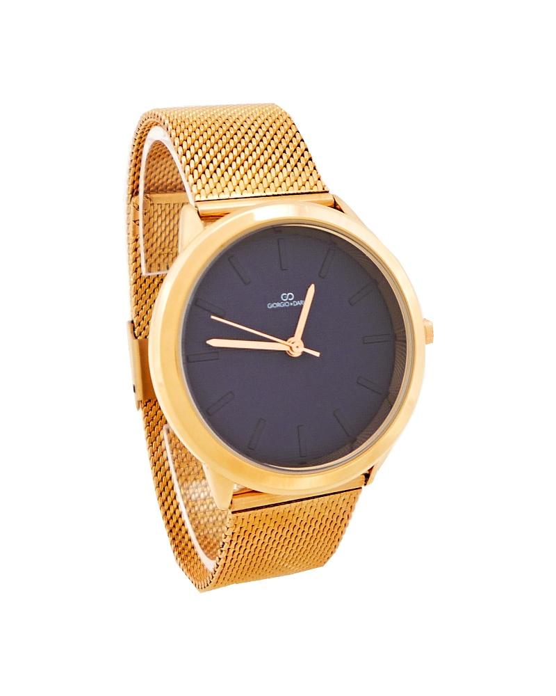 Dámské hodinky Giorgio Dario Lusy bronzovo-modré 651D