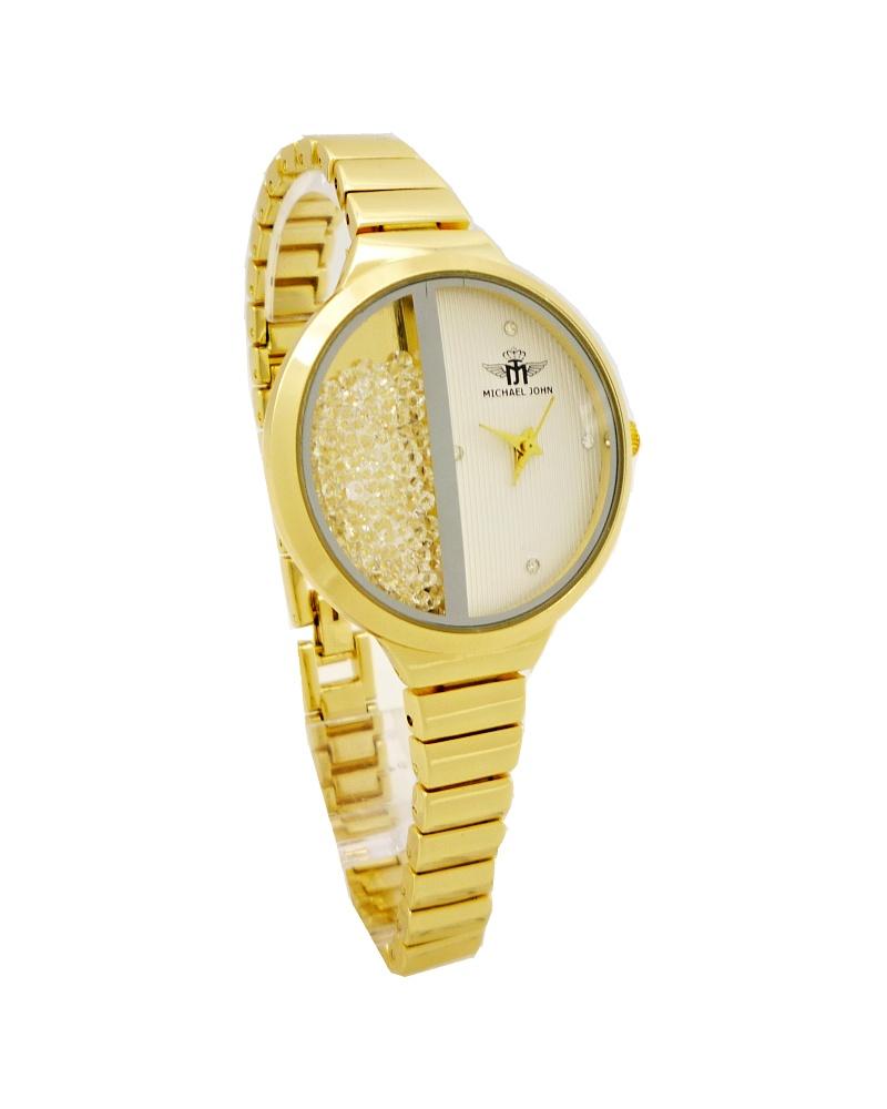 Dámské hodinky Michael John Delikte zlaté 523ZD