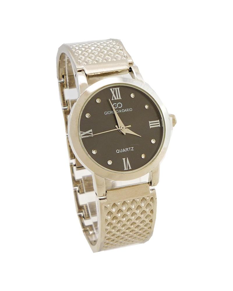 29b807463c3 Dámské hodinky Giorgio Dario Illy černo-stříbrné 530ZD