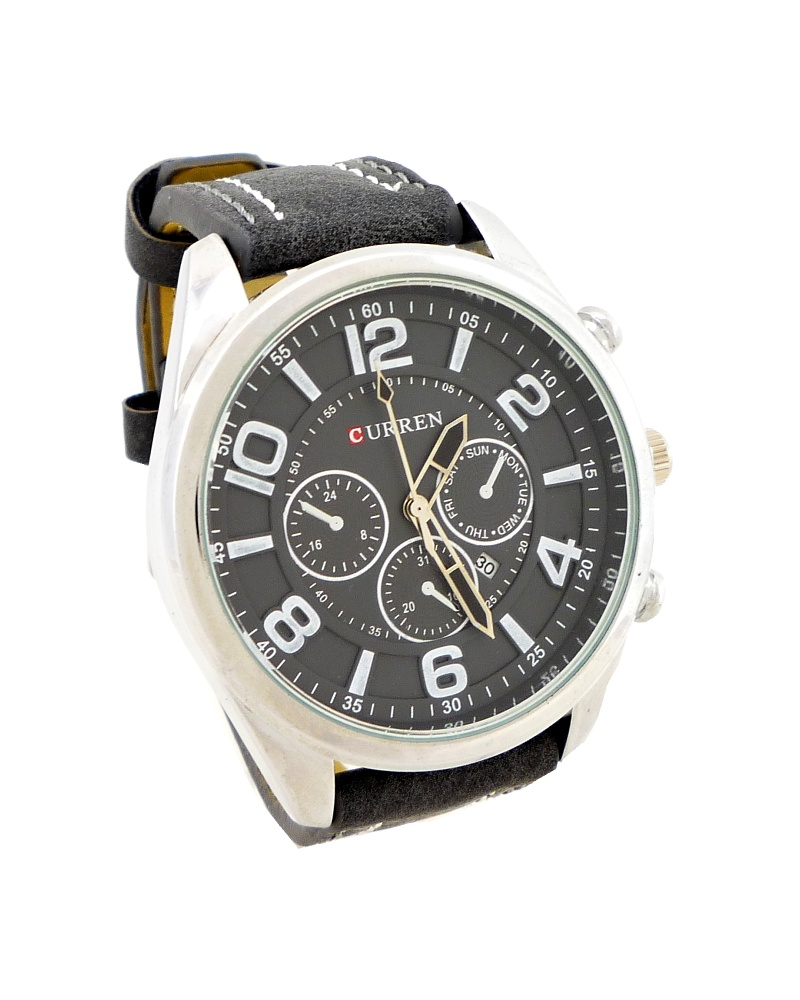 Pánské hodinky Curren Simply černé 351P ce180c7aff8