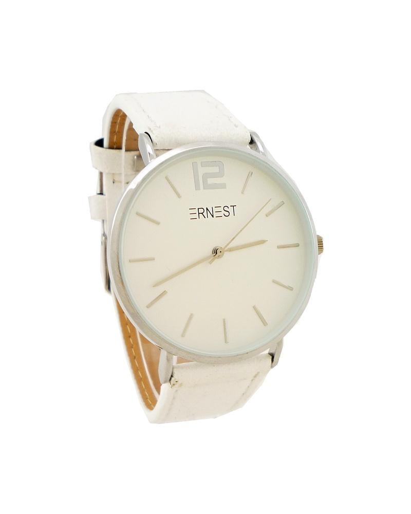 Dámské hodinky Ernest Moily bílé 744D