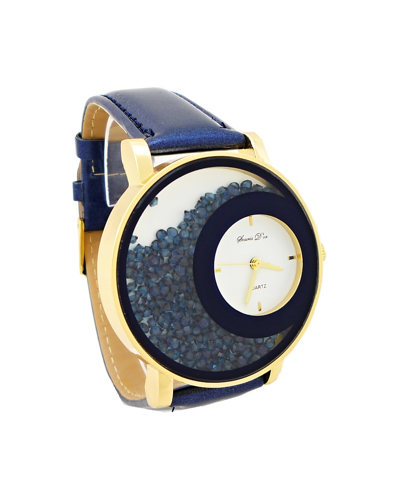 Dámské hodinky Douris Mind modré 788D