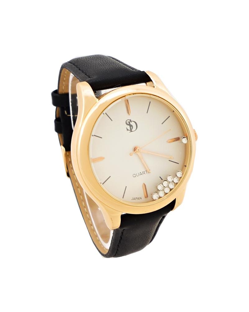 Dámské hodinky Bellos Delikate černé 731D
