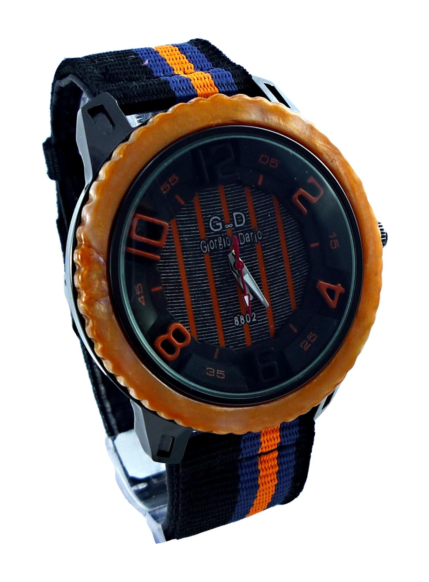 Pánské sportovní hodinky GD Sport orange 074P