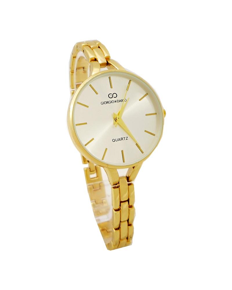 Dámské hodinky Giorgio Dario Thine zlaté 591D