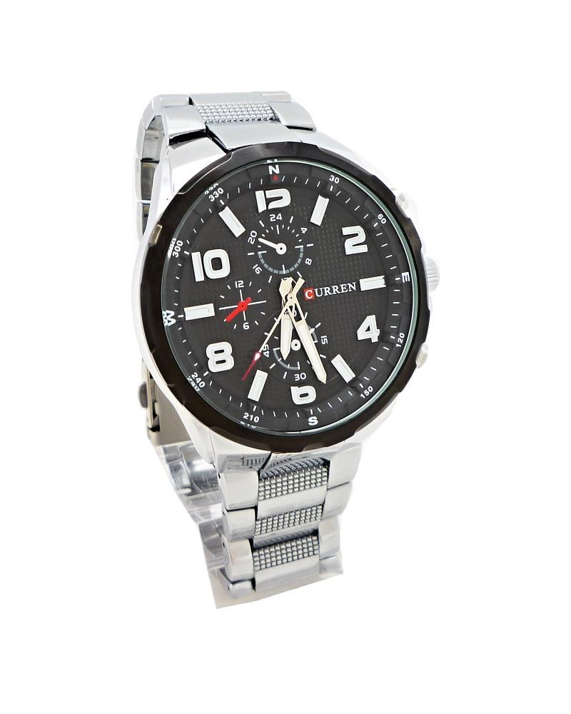 Pánské hodinky Curren Capricie černo-stříbrné 326P b69c8afeaf