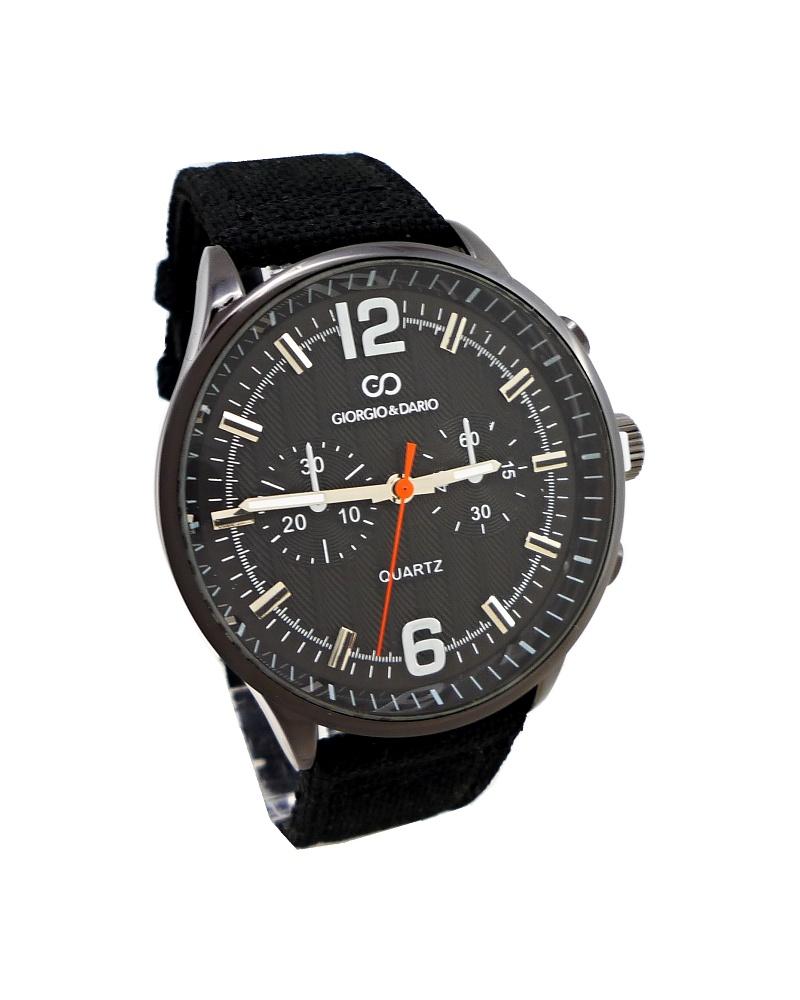 Pánské hodinky Giorgio Dario Arty černé 345P d2f48b93be