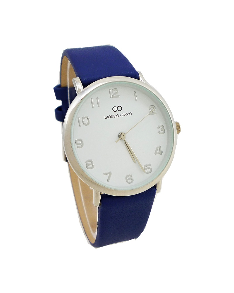 Dámské hodinky Giorgio Blady stříbrno-modré 613D ac3c0f5bba