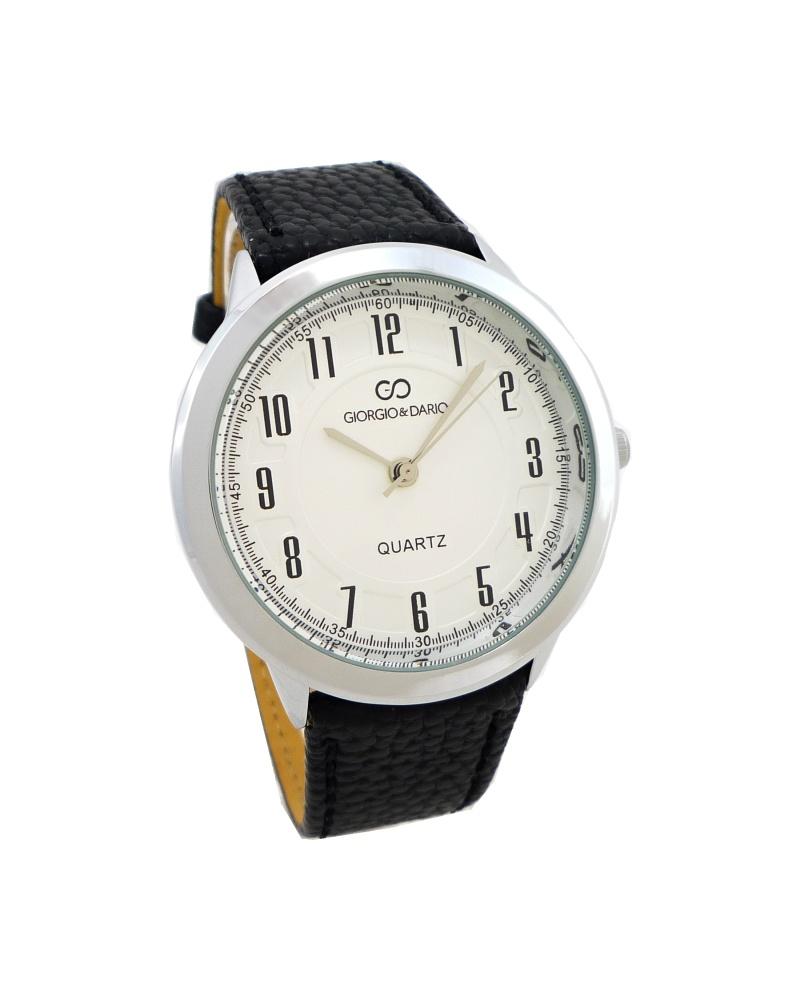 3e9ec88a8ec Dámské hodinky Giorgio stříbrno-černé 635D