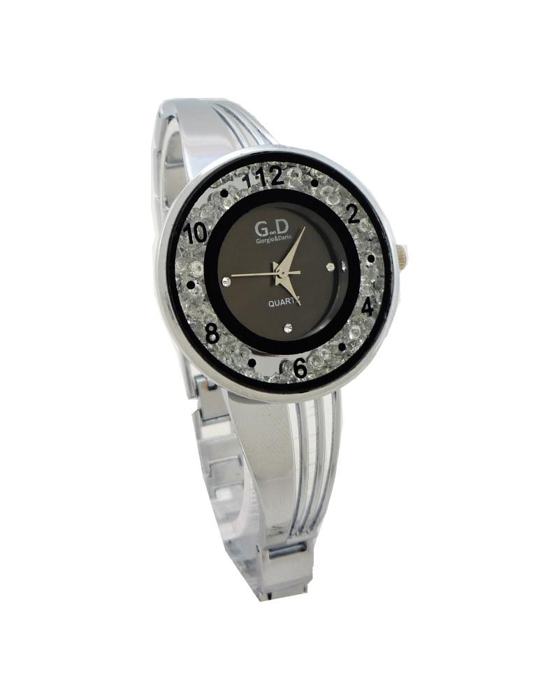 Dámské hodinky G.D Johny stříbrné 653D cfc69bbf09
