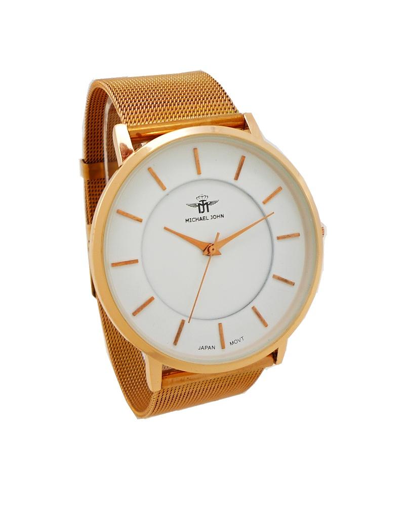 20da5c68414 Dámské hodinky Michael John Well bronzové 577ZD