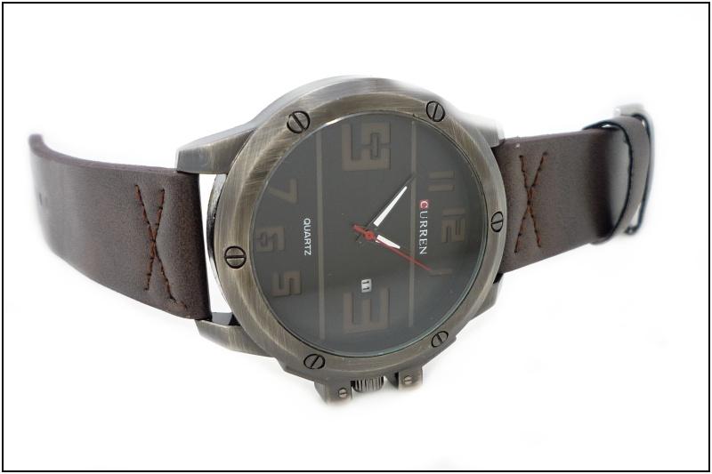 Pánské hodinky Curren Arty hnědé 350P  919e0c368d