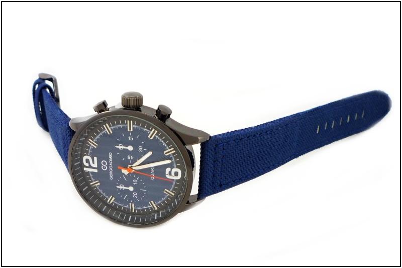 Pánské hodinky Giorgio Dario Arty modré 344P  9cf598200f