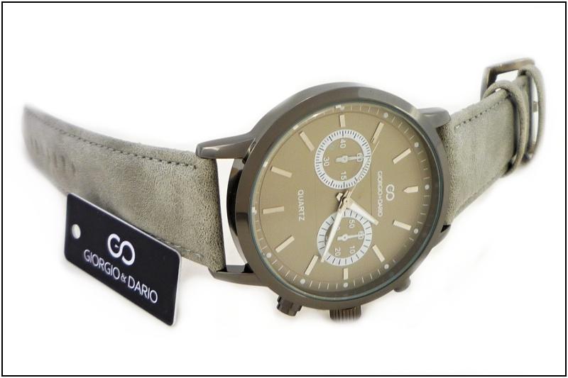 Pánské hodinky Giorgio Dario Decent šedé 348P  ca1b7928d7