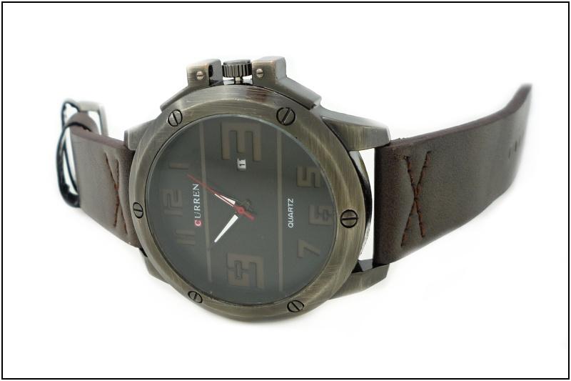 Pánské hodinky Curren Arty hnědé 350P  3719526b3a