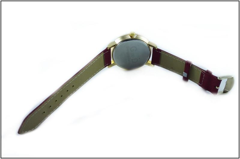 b79f1cbac Dámské hodinky G.D zlato-červené 154D | thodinky.cz