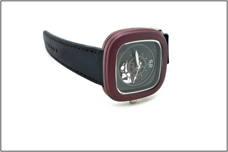 dd065e2ba15 Pánské sportovní hodinky G.D černo-hnědé 265P