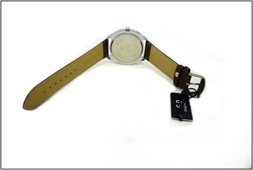 e2d6f832840 Pánské hodinky G.D Dear hnědé 162ZP