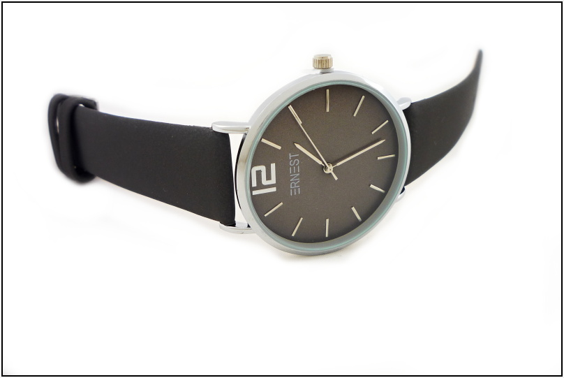 e3c8d80aea4 Dámské hodinky Ernest Soil tmavě šedé 603D