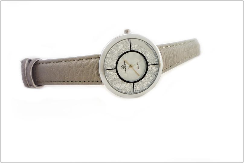 7bed0de6b04 Dámské hodinky Giorgio Delikty stříbrno-šedé 632D