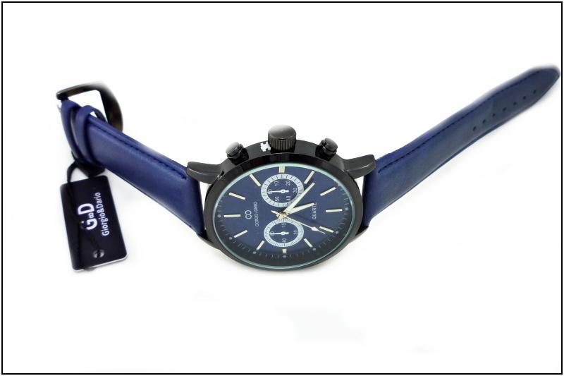 Pánské hodinky GIORGIO DARIO Decent modré 127P  7c4d1e50a1