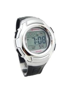 b508958540f Pánské stříbrné hodinky G.D černé 276P